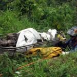 El cuerpo sin vida y en avanzado estado de descomposición de Sabrina José Contreras