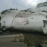 Fotos del Avión de Conviasa Estrellado en Puerto Ordaz 009