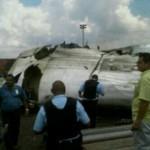 Fotos del Avión de Conviasa Estrellado en SIDOR 3