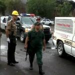 Funcionarios resguardaron la seguridad de los heridos del avión de Conviasa