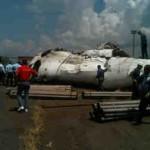 Fotos del Avión de Conviasa Estrellado en SIDOR 7