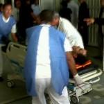 Heridos del avión de conviasa