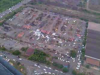 Foto Aérea del Siniestro