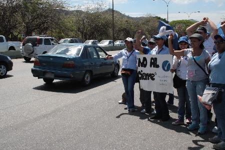 Protesta Trabajadores Bingo