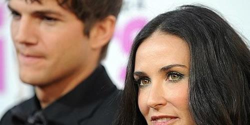 Demi Moore pidio el Divorcio a Ashton Kutcher por infidelidad