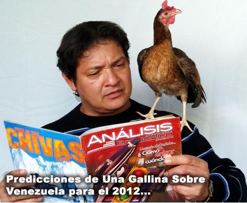 Predicciones de una Gallina Sobre la Economía Venezolana en el 2012