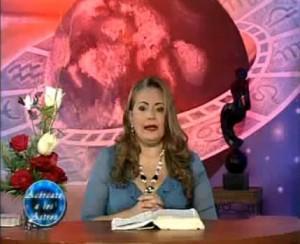 La astróloga venezolana Adriana Azzi ofrece, como cada año, sus ...