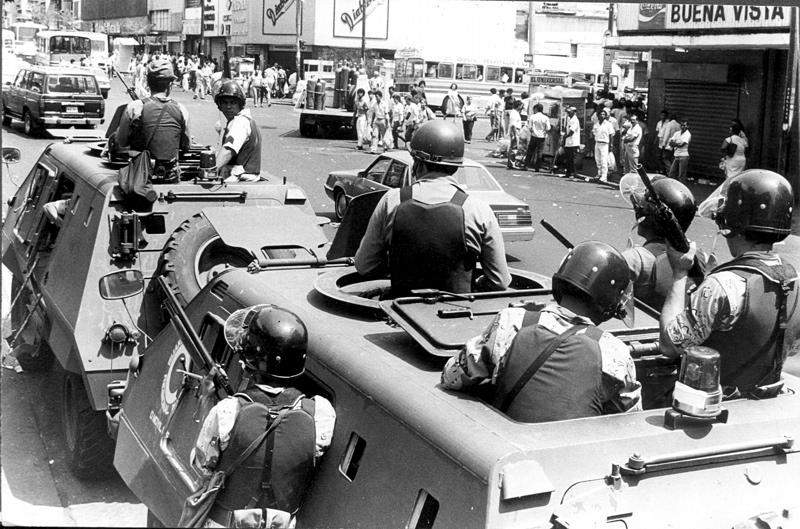 4 febrero 1992, sucesos, intentona golpista, golpe de estado, pronunciamiento militar
