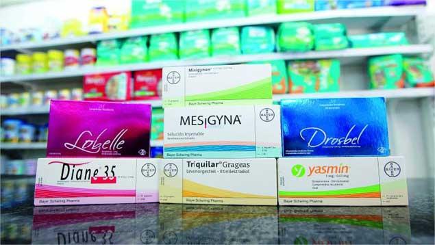 Comparaciones internacionales de anticonceptivos orales