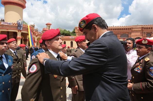 Ascenso Militares al Grado de Generales y Almirantes de la FANB 2013