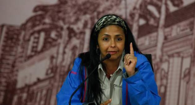 Ministra de Comunicación e Información, Delcy Rodríguez