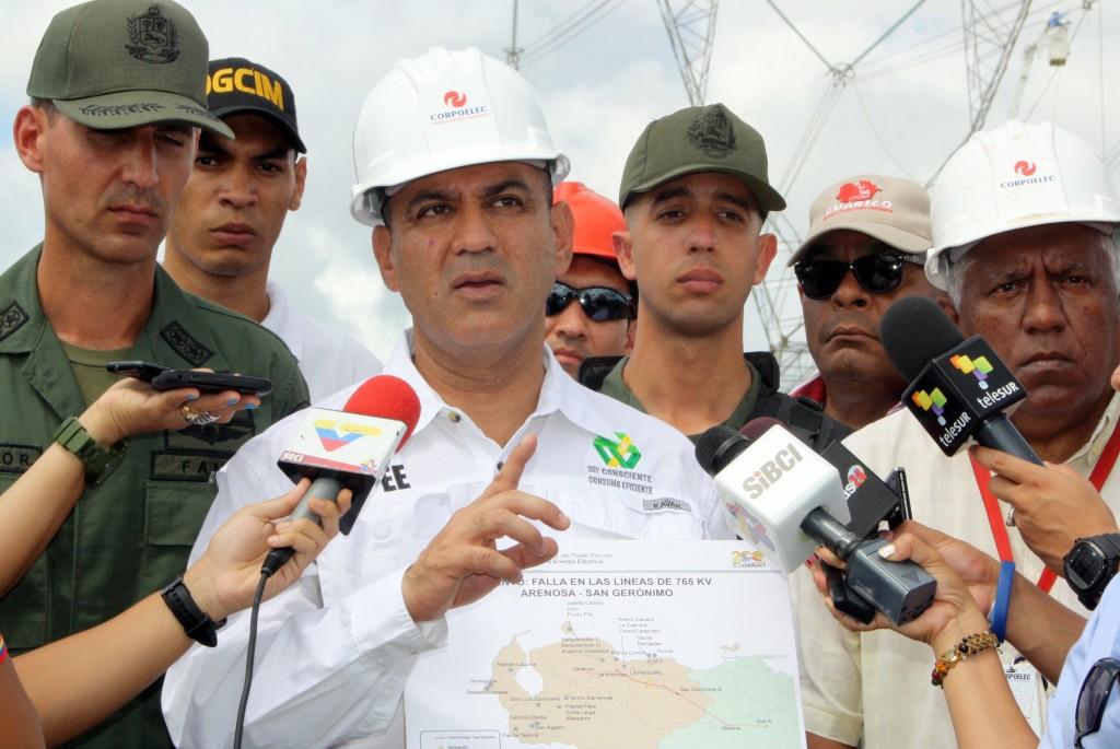 Jesse Chacón, ministro de Energía Eléctrica