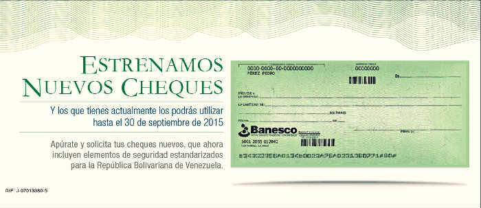 Cheque-Unico-Banco-Banesco-