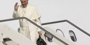 El papa Francisco llega a Guayaquil
