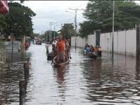 Lluvias dejan bajo las aguas a Guasdualito, más de 20 mil familias afectadasb