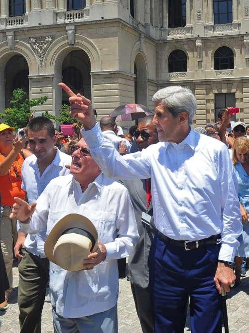 El secretario de Estado estadounidense, John Kerry 3