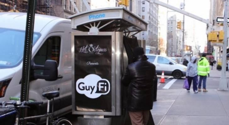Cabinas de videos sexuales en Nueva York