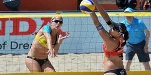 Voleibol de Playa criollo sigue invicto en Suramericano