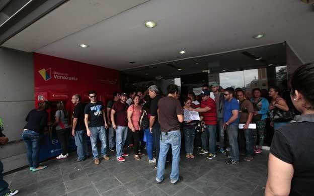En el banco de venezuela se hacen los locos con las divisas for 0banco de venezuela