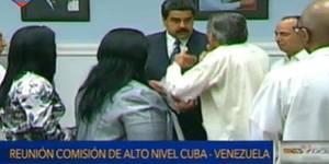 Maduro firma plan de cooperación con Cuba