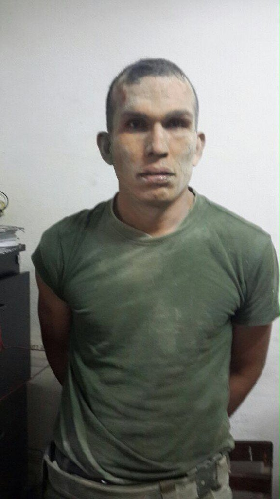 Juan Manuel Crispin detenido