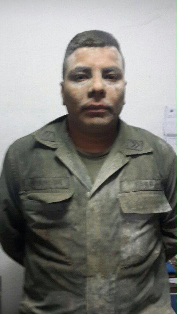Jhon Carlos Cuadros detenido