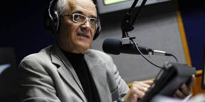 Bocaranda talks during his radio program in Caracas