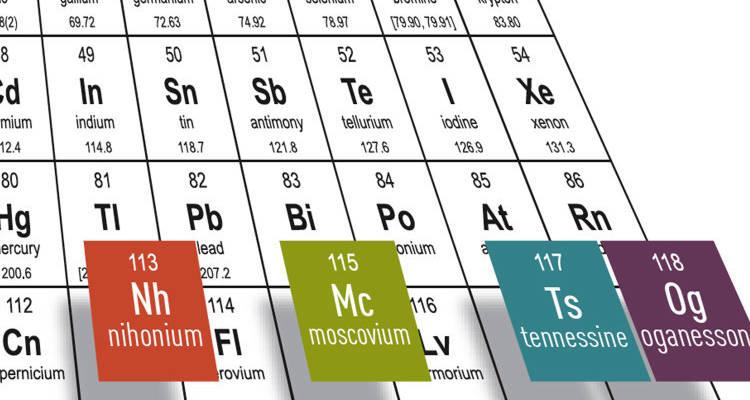 Ya tienen nombre as sern llamados los cuatro nuevos elementos as sern llamados los cuatro nuevos elementos de la tabla peridica urtaz Gallery