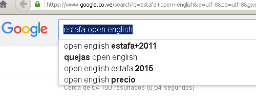 estafa open english