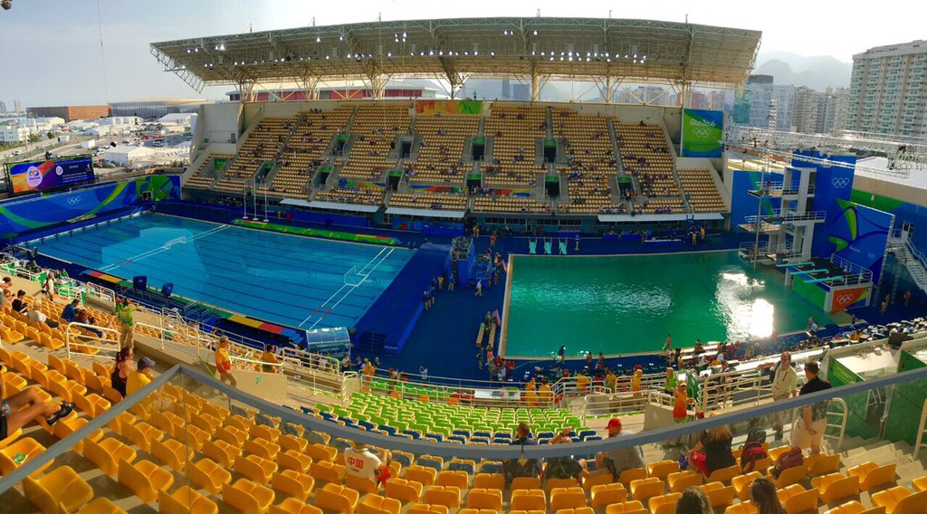 agua de piscina verde brasil