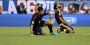 Dani Hernández le tapó dos penales a Colombia en una actuación destacada