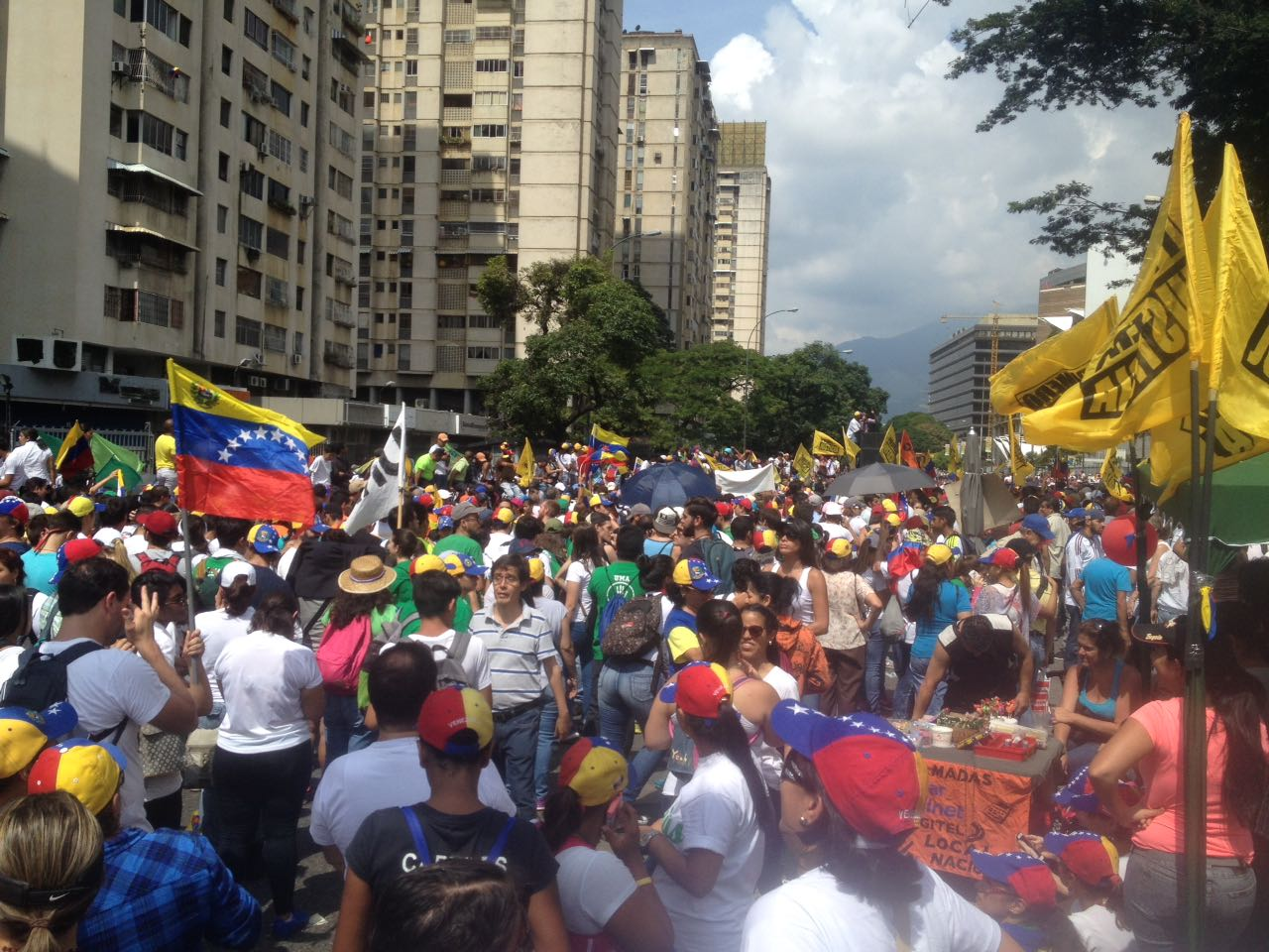 toma de venezuela 26 de octubre