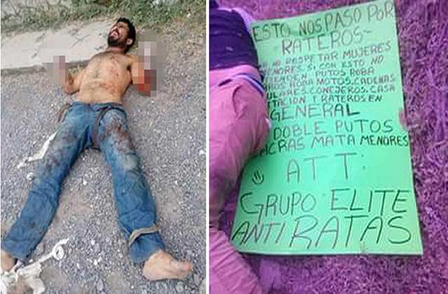 Foto: Agencia RT / Mutilaron las manos de seis antisociales en México