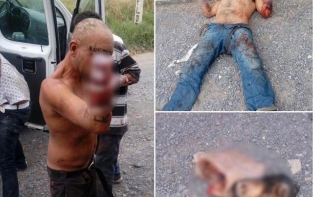 mutilados en mexico por justicieros