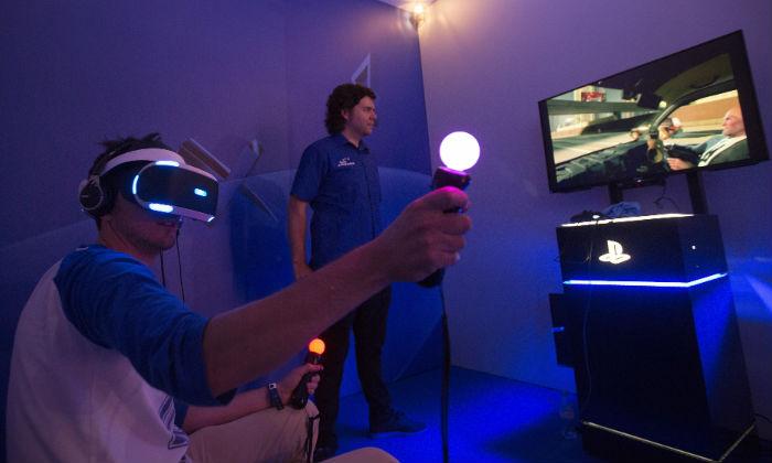 """Resultado de imagen para casco de realidad virtual de Sony el """"PlayStation VR"""""""
