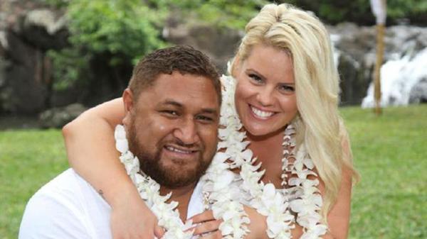 Clarence Leo y su esposa Amanda