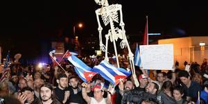 Fotos de la celebración en Miami por la muerte del Dictador Fidel Castro