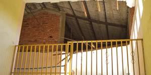 Maracaibo,Venezuela,05/12/2016.    Zulia. En Colegio Pichincha de parroquia Santa Lucia se cae el techo.