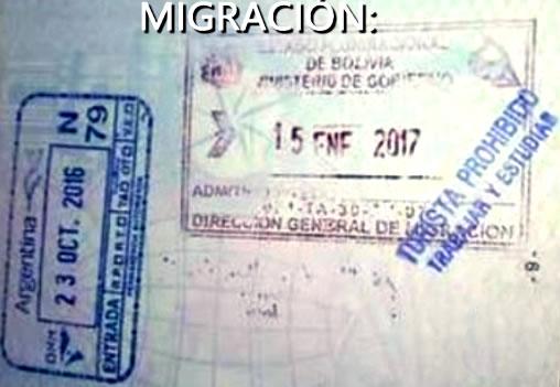 bolivia migracion