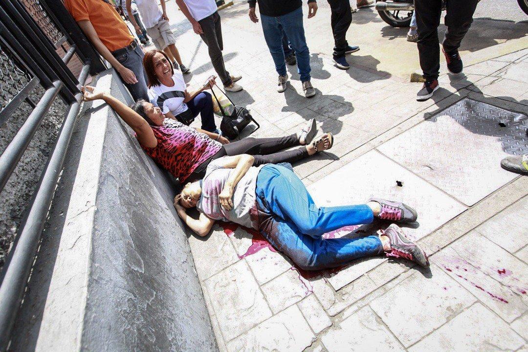 Colectivos Salvajes asesinaron a la Sra. Xiomara Scott enfermera del Pérez Carreño de 61 años