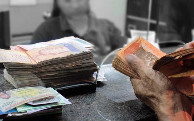 Denuncian que cajeros de bancos cobran hasta 8% para pagar un cheque