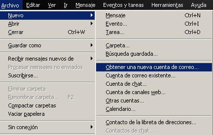 Cómo gestionar tu correo Hotmail desde Mozilla Thunderbird paso1