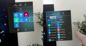Microsoft se viene con realidad aumentada en actualización de Windows 10