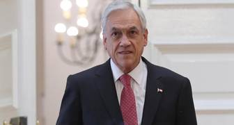 El presidente Sebastián Piñera