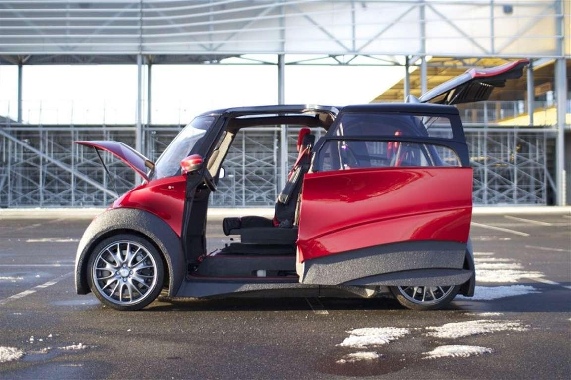 QBEAK Proyecto eléctrico danés de movilidad ciudadana inteligente. Tiene hasta tres prototipos diferentes
