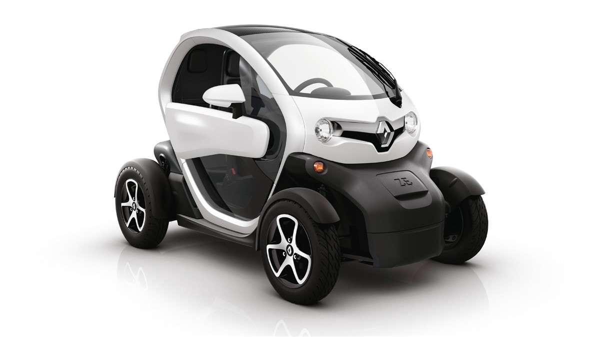 RENAULT TWIZY,Fabricado en España, con diferentes motores y opciones, no ha tenido el éxito esperado por la marca francesa