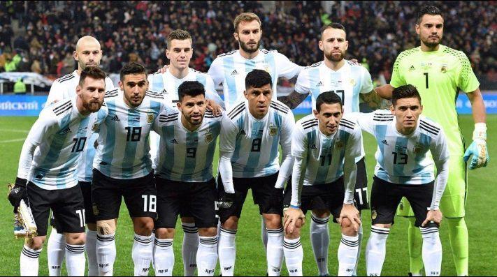 SELECCION DE ARGENTINA PARA RUSIA 2018