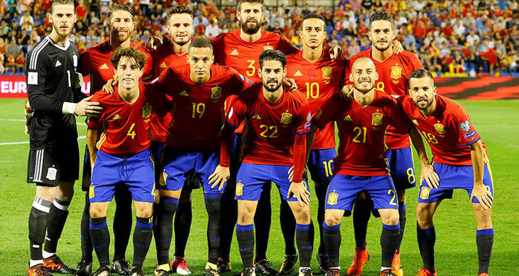 SELECCION ESPAÑA 2018