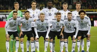 Seleccion de Alemania Rusia 2018