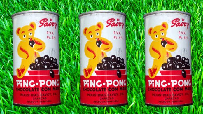 CHOCOLATE PING PONG